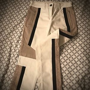 BCBG Maxazria Tri-Color block Pants
